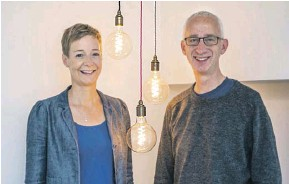 ?? PHOTOGRAPH: DAVID PIKE ?? ▲ Karin Sode and David Pike, who co-founded People's Energy in 2017. Ofgem is to arrange transfer of their customers' accounts