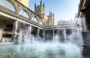?? Pic: Colin Hawkins ?? The Roman Baths in Bath