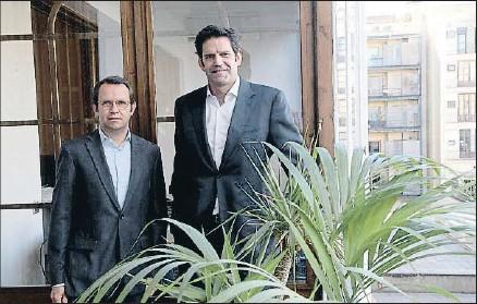 ?? KIM MANRESA ?? Jacinto Roqueta y Alex Miquel, socios fundadores de la inmobilaria Bonavista Develpment