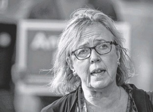 ?? PETER J. THOMPSON • POSTMEDIA NEWS ?? Elizabeth May said she fully accepted Annamie Paul's need to move to centre stage in the Green Party, which is why she has kept a low profile over the last year.