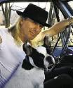 ??  ?? Jim McGuire Robin Zander with his French bulldog Buddha
