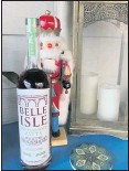 ?? KARRI PEIFER/ TIMES-DISPATCH ?? Belle Isle sold 1,000 bottles of its peppermint whiskey within 10 days of its release just before Thanksgiving.