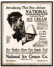 "?? (Arkansas Democrat-Gazette) ?? Advertisement touting ""carbonated-process"" ice cream in the April 8, 1921, Arkansas Gazette"