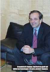 ??  ?? Kryeministri shqiptar, Sali Berisha gjatë një takimi me homologun e tij grek, Andonis Samaras