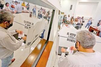 ?? /GALO CAÑAS /CUARTOSCURO ?? El proceso electoral 2021 ha evidenciado importantes vacíos de información.
