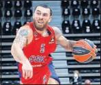 ??  ?? Mike James, con el CSKA.