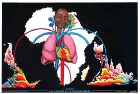 ??  ?? Chéri Samba. « Je suis les poumons et le coeur du monde », 2019. Galerie Magnin-A.