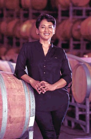 ?? Picture: Supplied ?? Carmen Stevens is at the helm of the country's first fully black-owned winery.
