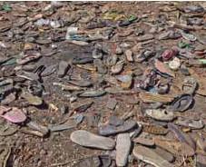?? / AP ?? Víctimas. Los Amharas son blanco de intensos ataques.
