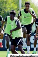??  ?? Catamo treina no Algarve