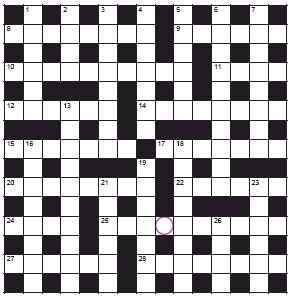 ??  ?? PLAY our accumulator game! Every day this week, solve the crossword to find the letter in the pink circle. On Friday, we'll provide instructions to submit your five-letter word for your chance to win a luxury Cross pen. UK residents aged 18+, excl NI. Terms apply. Entries cost 50p.