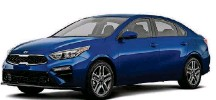 ?? METRO NEWS SERVICE PHOTO ?? The all-new 2019 Kia Forte's overall length has increased by 3.2 inches to 182.7 inches, allowing for more rear legroom and additional cargo in the trunk. With 15.3 cu.-ft., cargo room is among the largest in the segment. Additional rear headroom results from increasing the overall height to 56.5 inches, while the overall width has grown to 70.9 inches.