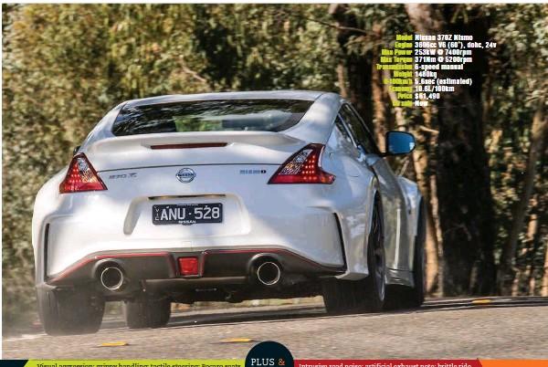 Pressreader Wheels Australia 2017 09 21 Nissan 370z Nismo