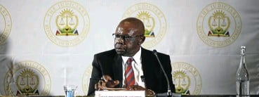 ?? Picture: Oupa Nkosi ?? Judge president John Hlophe's fate rests with the JSC, to which a tribunal's finding against him has been referred.