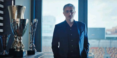 ?? Picture: Supplied ?? far BIG NAME. Football manager José Mourinho is the face of Sanlam's new advertising campaign.