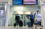 ??  ?? Passengers who travelled by Eurostar from Paris and Brussels arrive in London hours after quarantine was introduced for those returning from France. Belgium is already on the 'red list'