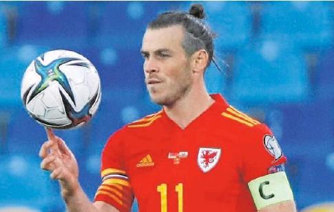 ?? // REUTERS ?? Gareth Bale, autor de tres goles con Gales el pasado domingo