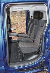 ??  ?? На заднем сиденье всегда просторно и комфортно.