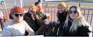??  ?? Have you been caught on camera in Cleethorpes? Our photographers were out and about at Tale Of Two, The Signal Box Inn, The Foundry, The Wellow and Scratching Post.