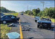 ?? Florida Highway Patrol ?? One Tampa woman died and another was critically injured Sunday in a wrong-way crash on U.S. 41.