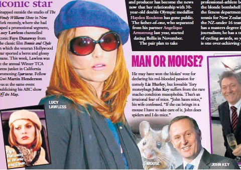 PressReader - Herald on Sunday: 2011-02-13 - Lucy Lawless channels on