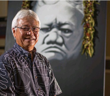 ??  ?? Larry Kimura is the Aloha State's best-known Hawaiian-language educator and advocate.