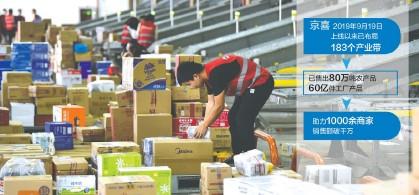 ??  ?? 2020年11月4日,工作人员在南京某物流中心拣选包裹视觉中国图