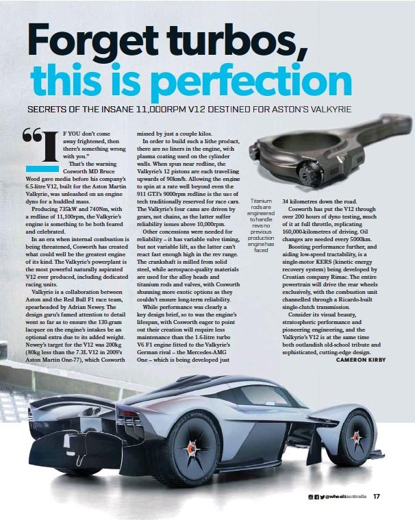 Aston Martin Valkyrie S V12 Pressreader