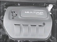 ??  ?? The 1.4-litre Multiair Turbo is one of three engines available in the Dart.