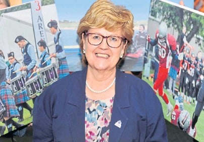 ??  ?? LEGACY: Kay Jackson says priority will be given to groups providing their community with direct support