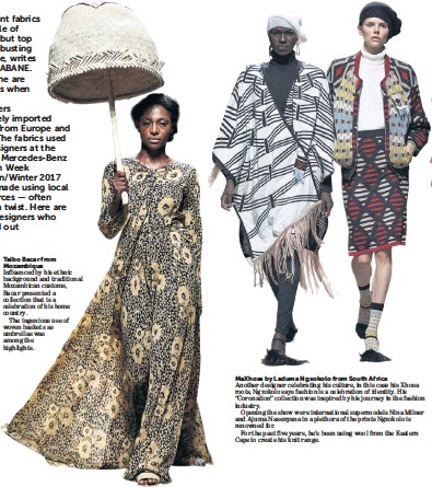 Pressreader Sunday Times 2017 04 16 African Fashion Comes Home