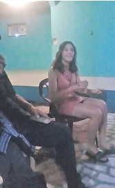 ??  ?? Karen Anahí Funes Torres, detenida.