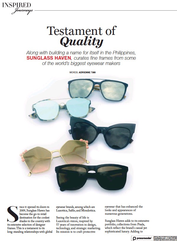 3ea5960fd00 The company undoubtedly continues as a purveyor of premium sunglasses  without compromising comfort and quality