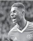 ?? JON SUPER, AP ?? Marcus Rashford scored two goals in Manchester United's 3-2 win.