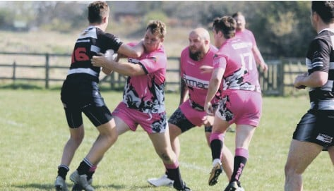 ?? PHOTO BY TCF PHOTOGRAPHY ?? READY FOR RETURN: Scarborough Pirates, pictured in their friendly clash with Heworth, are ready for this weekend's league opener with Three Tuns