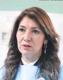 ?? FOTO: EL HERALDO ?? Alba Consuelo Flores es la ministra de Salud.