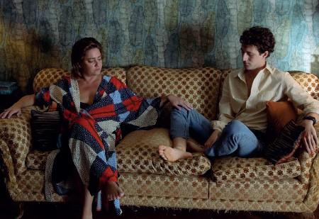 ??  ?? Il frame In questa scena del film Gli indifferenti, Giovanna Mezzogiorno e Vincenzo Crea