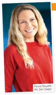 ??  ?? Penny Bauder, 44, San Diego