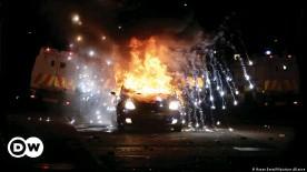 ??  ?? Tensions rose in April when protests over the Brexit border arrangements turned violent