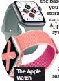 ??  ?? The Apple Watch Series 5