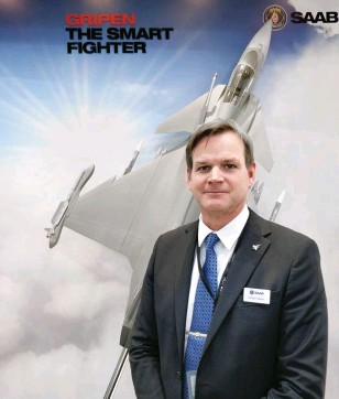 ??  ?? Christer Olsson, Director, Sales and Marketing – Gripen, Saab