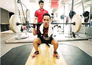 ??  ?? Loh's next goal is to compete in the 100km ultra marathon.