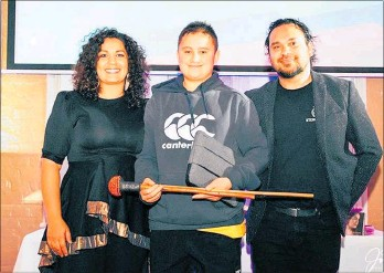 ??  ?? Award-winning Te A¯ kauroa Jacob.
