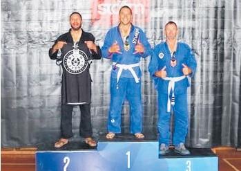 ??  ?? Bronze medal winner Darren Macguire.