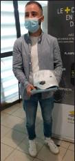 ??  ?? Yannick Soulé : apprenti CAP plâtrier-plaquiste et 7e place nationale