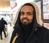 ??  ?? Mohamed Ibrahim, Hässelby – Man måste ge varandra en chans, inte bara utgå från rykten. Vi borde vara gladare och tro mer på de människor vi möter. Vi har blivit mer hänsynsfulla av coronan, det kan ta oss jättelångt om vi håller fast i det.