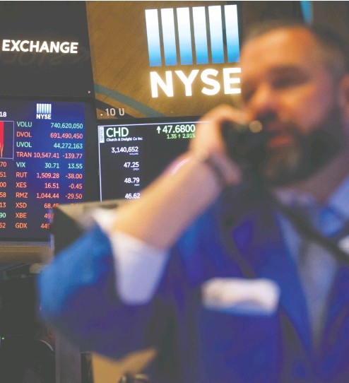 ?? MICHAEL NAGLE / BLOOMBERG FILES ?? Although equities have historical­ly been divided into distinct, static sectors — such as utilities or technology — investors are increasing­ly sorting the stock market by more dynamic financial characteri­stics known as factors.