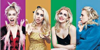 ??  ?? Art imitating life: Billie Piper brings a vivid energy as the eponymous heroine of Sky Atlantic's new series