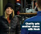 ??  ?? Charity gets another chance with Noah