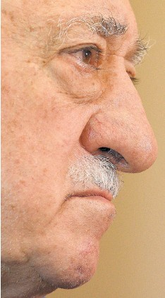 ?? Picture: Reuters ?? HUMBLE LEADER Fethullah Gulen seems surprised at the size of his global movement, known as Hizmet.